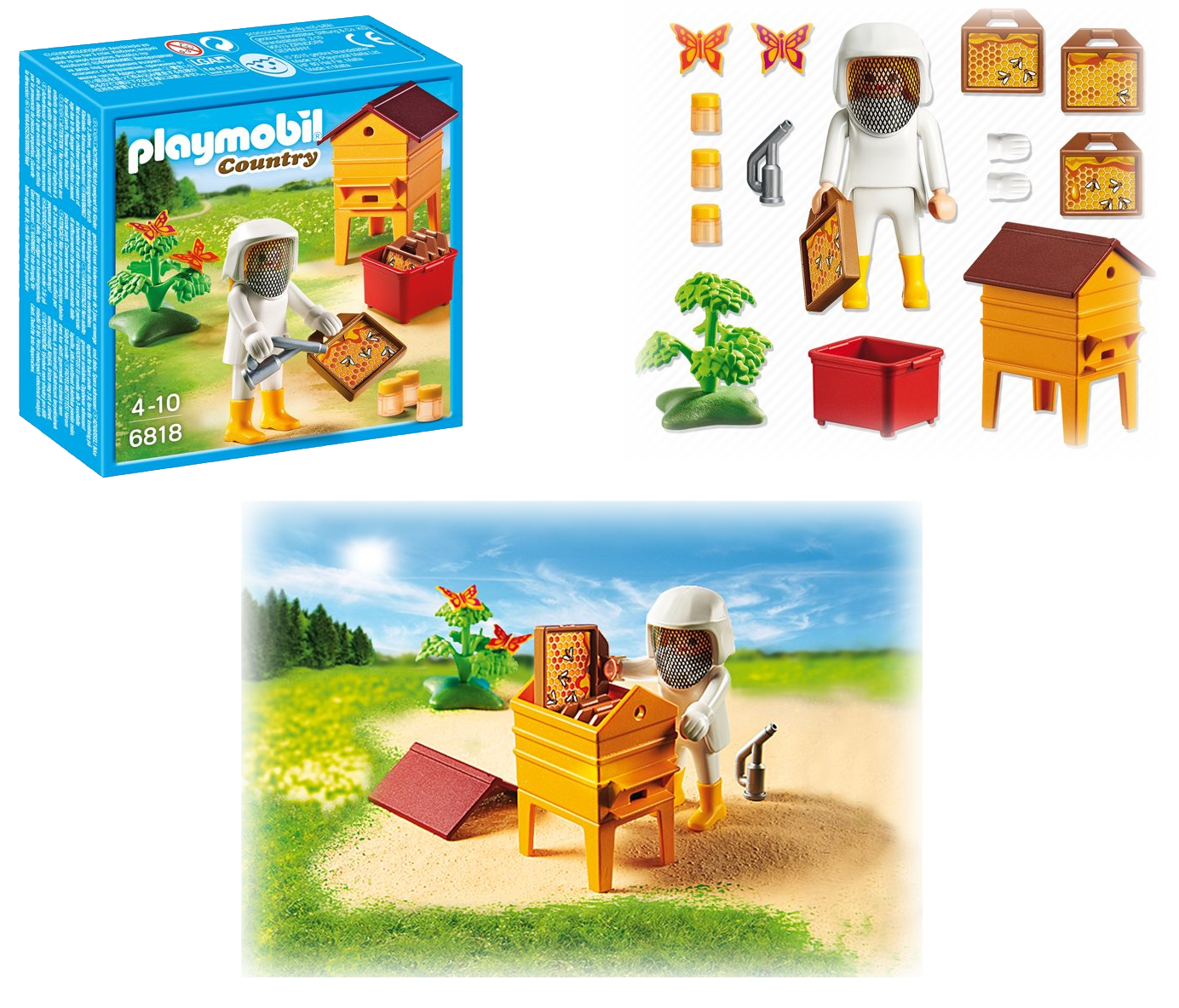 00RE69 Apicultrice PlayMobil